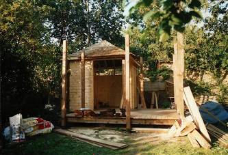 Summerhouse And Workshop Stephen Grover Gardens For People
