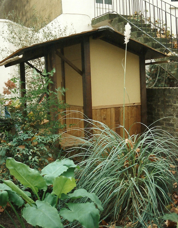 The nicest sheds stephen grover gardens for people for Japanese style garden buildings